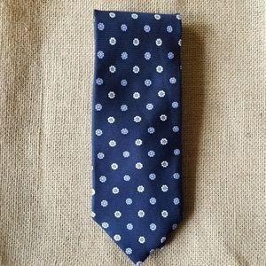 Banana Republic 100% Silk Floral Men's tie